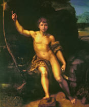 Raffael - The young John the Baptist