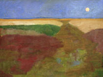Paula Modersohn-Becker - Moon above Fields
