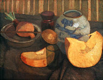 Paula Modersohn-Becker - Still Life with Pumpkin and Ginger Pot