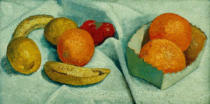 Paula Modersohn-Becker - Still Life with Oranges, Bananas, Lemons and Tomatoes