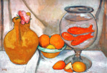 Paula Modersohn-Becker - Still Life with Goldfish