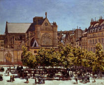 Claude Monet - St.Germain l'Auxerrois