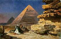 Friedrich Perlberg - The Pyramids of Giza