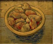 Vincent van Gogh - Still life with potatoes in a yellow bowl