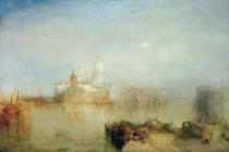 Joseph Mallord William Turner - Dogana, and Madonna della Salute, Venice