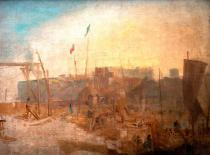 Joseph Mallord William Turner - Margate, setting Sun