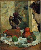 Paul Gauguin - Nature morte au profil de Laval