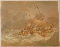 Joseph Mallord William Turner - Sailers getting Pigs on Bord