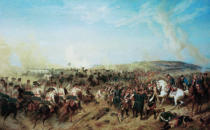 Johann Emil Hünten - The Battle near Zorndorf