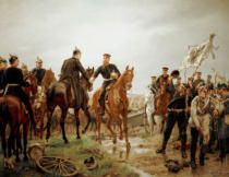Emil Hünten - The Battle of Königgrätz