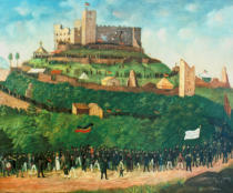 Joseph Weber - March to castle Hambach on 27 May 1832.