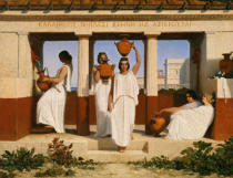 Dominique Louis Papety - Greek women at the well
