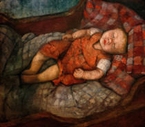 Paula Modersohn-Becker - Sleeping Child