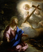 Luca Giordano - Christ on the Mount of Olives