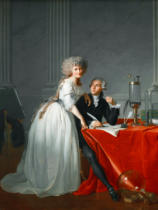 Jacques-Louis David - Antoine Laurent de Lavoisier und seine Frau