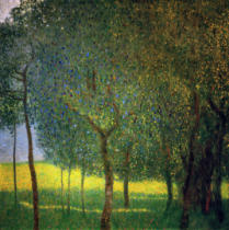 Gustav Klimt - Fruit Trees on Attersee