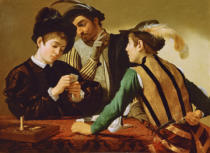 Michelangelo Merisi da Caravaggio - The Card Sharps