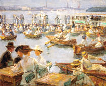 Max Liebermann - An der Alster in Hamburg