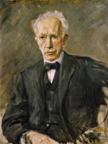 Max Liebermann - Richard Strauss /Portr./Liebermann/ 1918