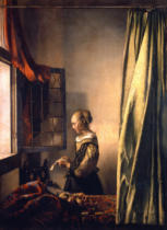 Jan Vermeer van Delft - Girl reading a letter at an open window