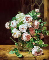 Ferdinand Georg Waldmüller - Bunch of Roses