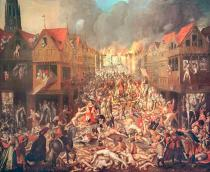 AKG Anonymous - The Spanish Fury in Antwerp on 4th November 1576