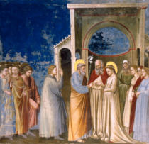 Giotto di Bondone - The Marriage of Mary