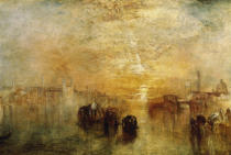 Joseph Mallord William Turner - Venice: Going to the Ball (San Martino)