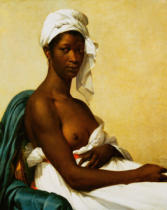 Marie-Guillemine Benoist - Portrait of a Negress, 1799-1800,