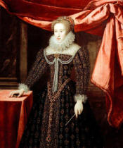 AKG Anonymous - Claudia of Lorraine / Paint./ C17th