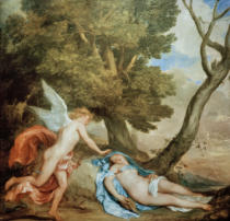 Anthonis van Dyck - Amor and Psyche