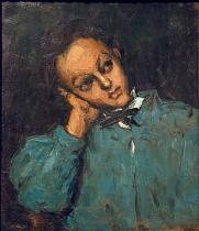 Paul Cézanne - Boy leaning on his hand