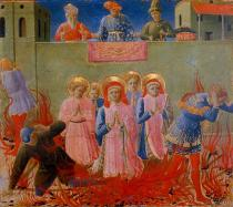 Fra Angelico - F.Angelico/Cosmas & Damian Death by Fire