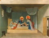 Fra Angelico - Healing of the deacon Justinianus by the Saints Cosmas and Damian
