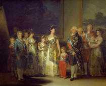 Francisco José de Goya y Lucientes - The Family of Charles IV