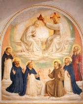 Fra Angelico - Fra Angelico / Coronat.of Mary w.Saints