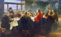 Fritz von Uhde - The Last Supper