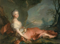 Jean-Marc Nattier - Marie Adélaïde of France as Diana