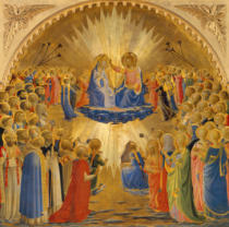 Fra Angelico - Coronation of the Virgin with Saints and Angels