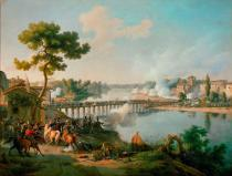 AKG Anonymous - The French under Bonaparte storm the Bridge of Lodi held by the Austrians