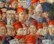 Benozzo di Lese di Sandro Gozzoli - Journey of the Three Magi