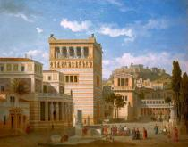 Leo von Klenze - Ideal view of the city of Athens in antiquity
