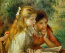 Pierre Auguste Renoir - The lecture
