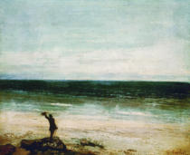 Gustave Courbet - Les bords de mer à Palavas