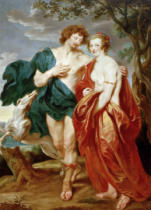 Anthonis van Dyck - Lady Manners and Lord Buckingham as Venus and Adonis