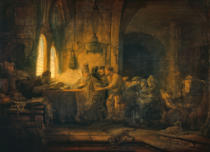 Harmensz van Rijn Rembrandt - The Parable of the Workers in the Vineyard