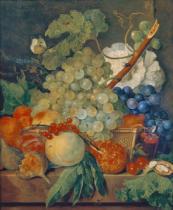 Jan van Huysum - Stilllife with fruit