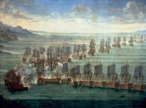 Venedig-Venezia - Formation of the Venetian and the Turkish fleet