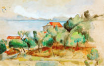Paul Cézanne - The bay of Estaque