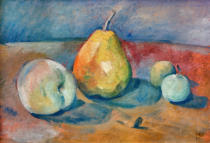 Paul Cézanne - Still-life with pears and green apples
